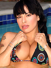 The lovely Foxxy is half-Mexican and half-Puerto Rican and very cute!