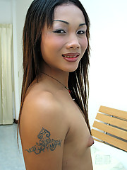 Anne is a 19 year old ladyboy cutie from Udon Thani. She has perky budding tits and a great cock that\