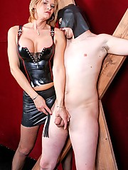Mistress Astrid Shay is in the business of making sissy slaves suffer!
