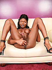 Big cock black tranny Amyiaa