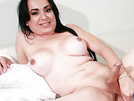 Horny latina with a big cock!