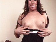 Kim loves to play rough with her thick cock