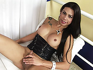 Naughty Brazilian tgirl hottie Bruna