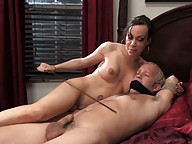 LaCherry Spice fucks Little Bliiy deep in his ass