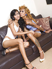 Ladyboys Karn and Noon