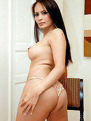 Stunning ladyboy hooker bares her secret weapon