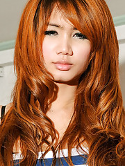 Sweet ladyboy with a pretty face!