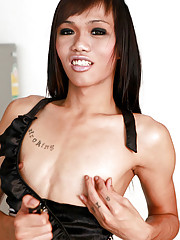 Sweet ladyboy from Cascade bar, Bangkok