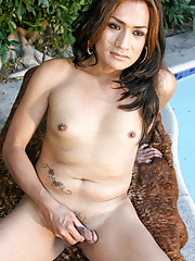 Shy new comer who loved to strip outdoors