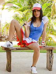 Ladyboy Bell is a baseball girl