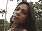 Cutie Bruna Rodrigues Masturbating Outdoors