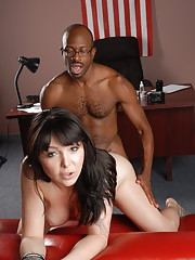 Sexy Danielle getting rammed by a huge black cock