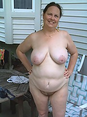 Fat wife at a swinger party