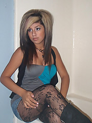 Photos of sexy emo amateur chicks
