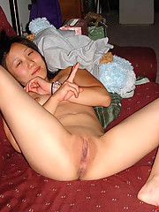 Pictures of a cocksucking Korean bitch