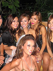Pictures of hot Asian chicks in a bridal shower