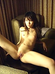A sexy Asian named Mia posing for photos