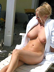 Pictures of a hot big-tittied housewife