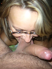 Pictures of a wife sucking a dick in the nude