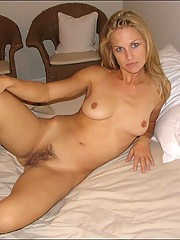 My wife nude pose