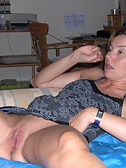 Russian housewife Chantal fucking