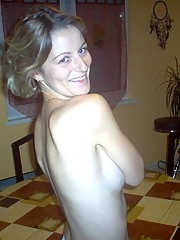 Picture of a naked housewife