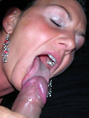 Old MILF Caterina loves cock