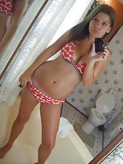 Sexy Teens self shot