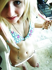 Hot self shot emo teens