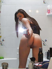 Picture collection of a hot amateur selfshooting babe