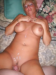 Photos of hot amateur creampies