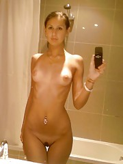 Naked babes making good use of their camera phones