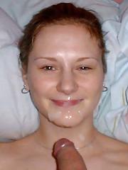 Nice and sizzling hot picture set of cum facials