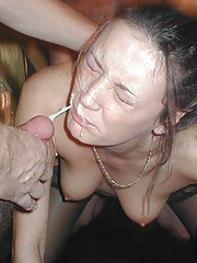 Pictures of kinky girlfriends cum-drenched