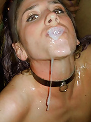 Hot photo set of cumshots, facials, and creampies