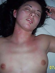 Photo collection of various hot cumshots