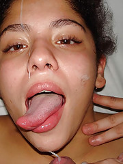 Photos of cumshots, facials, and creampies