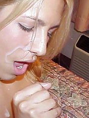 Collection of facial and body cumshots