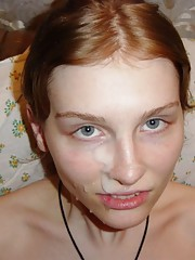 Photos of nasty chicks who love cum facial