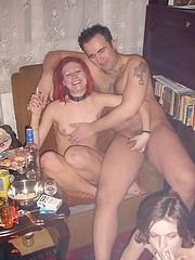 Russian swingers party