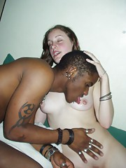 Hot interracial threesome orgy with cocksucking