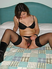 Horny Eileen does everything naughty and dirty