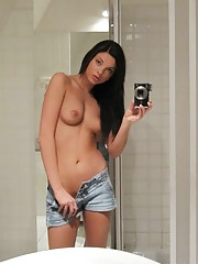 Bad boyfriends traded these hot self shot nudes