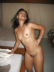 lots of spreading from this dark skinned asian girl