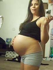 Very Cute Ex pregnant girlfriends Having Sex