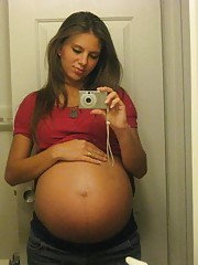 Homemade real amateurs pregnant girlfriends