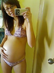 Amateurs pregnant girlfriends posing for us