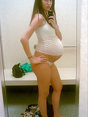 Amateurs ex pregnant girlfriends posing for us