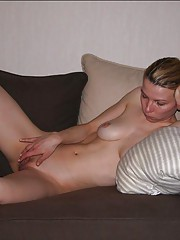Picture collection of kinky babes masturbating
