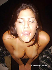 Picture collection of jizz-swallowing bitches